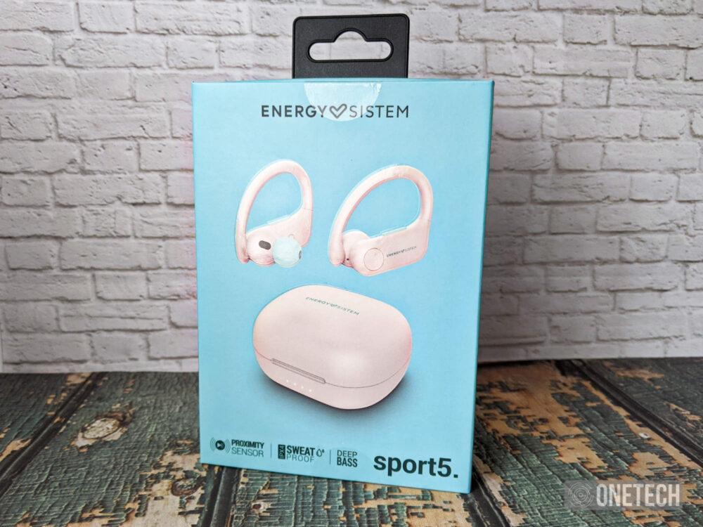 Energy Sistem Earphones Sport 5 True Wireless: auriculares para hacer deporte - Análisis 1