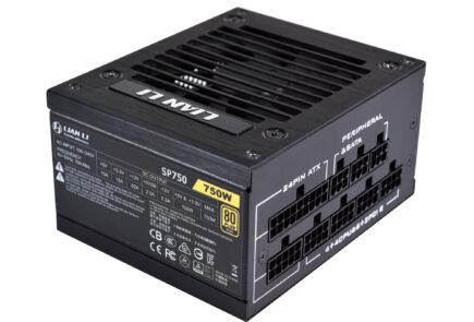 LIAN LI presenta su nueva fuente de alimentación SP750 con certificación 80 PLUS Gold 3