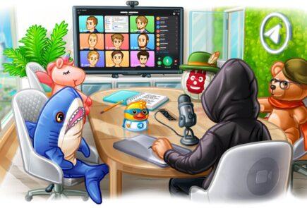 Telegram añade videollamadas grupales y fondos animados 2