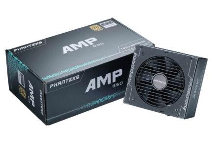Phanteks lanza sus fuentes de alimentación AMP 850W y AMP 1000W 80Plus Gold 1