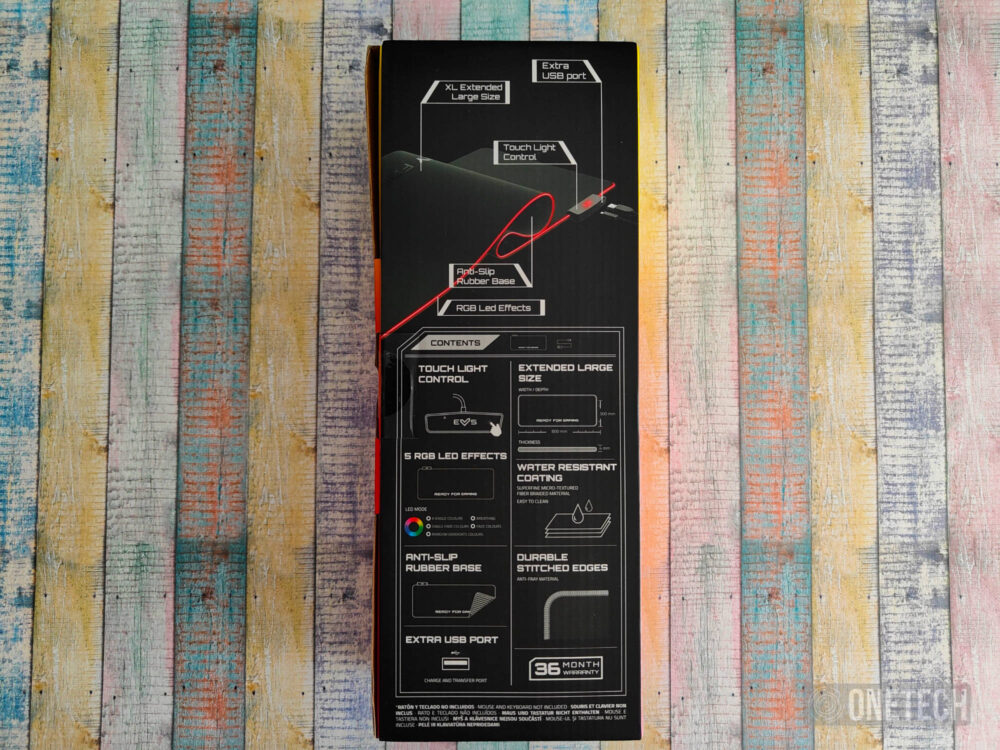 Gaming Mouse Pad ESG P5 RGB