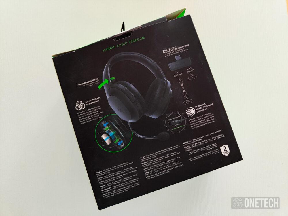Barracuda X, probamos los nuevos auriculares 4 en 1 de Razer- Análisis 2