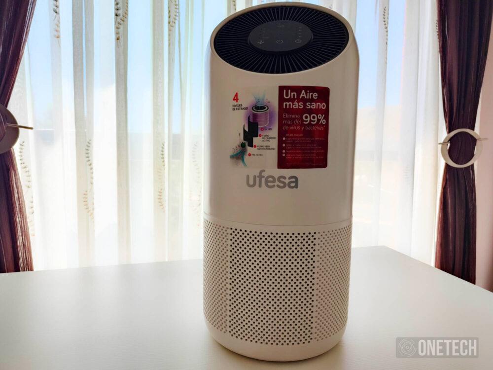 UFESA PF6500 Clean Air Connect, probamos el purificador que promete matar el Sars-COV 2 en un 99,97% - Análisis 3