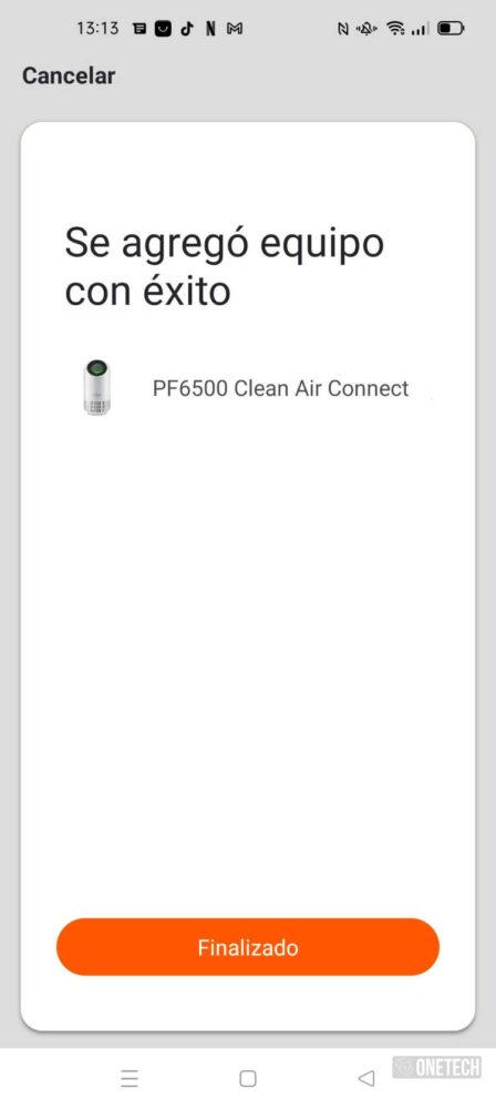 UFESA PF6500 Clean Air Connect, probamos el purificador que promete matar el Sars-COV 2 en un 99,97% - Análisis 13