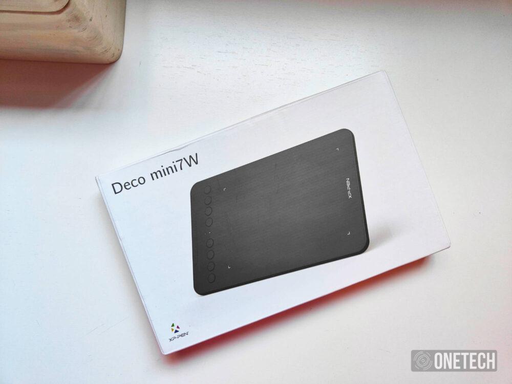 XP-Pen Deco Mini7W, una tableta gráfica mini en tamaño y grande en prestaciones - Análisis 1