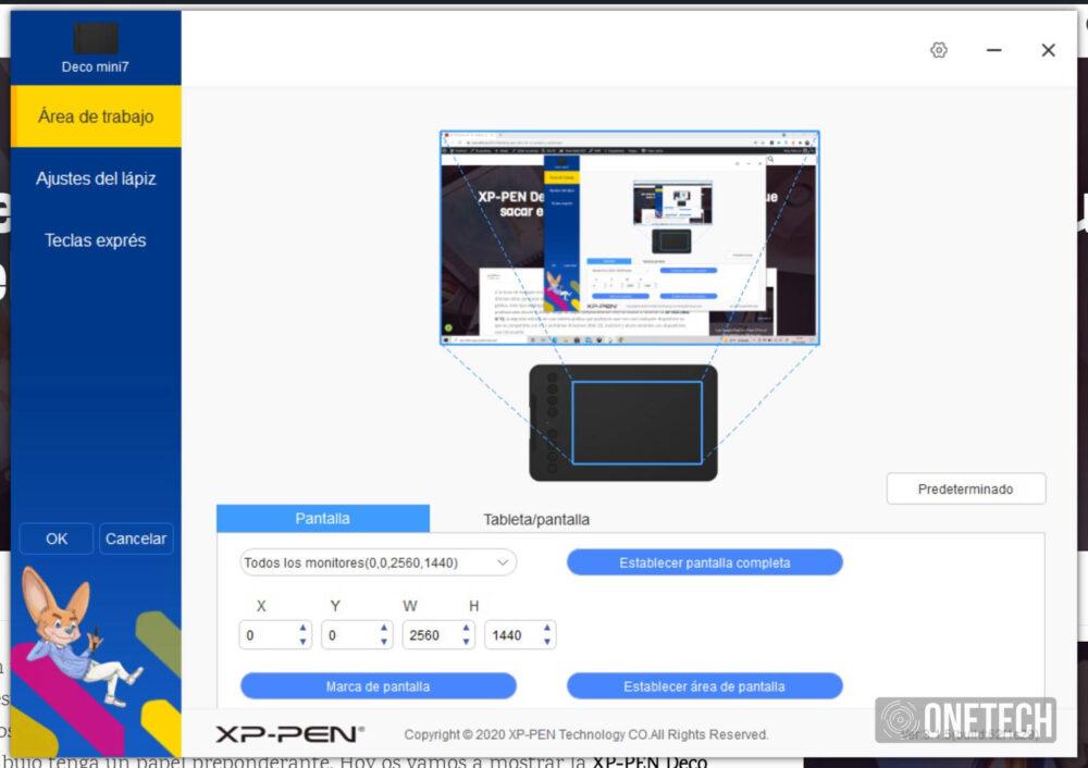 XP-Pen Deco Mini7W, una tableta gráfica mini en tamaño y grande en prestaciones - Análisis 15