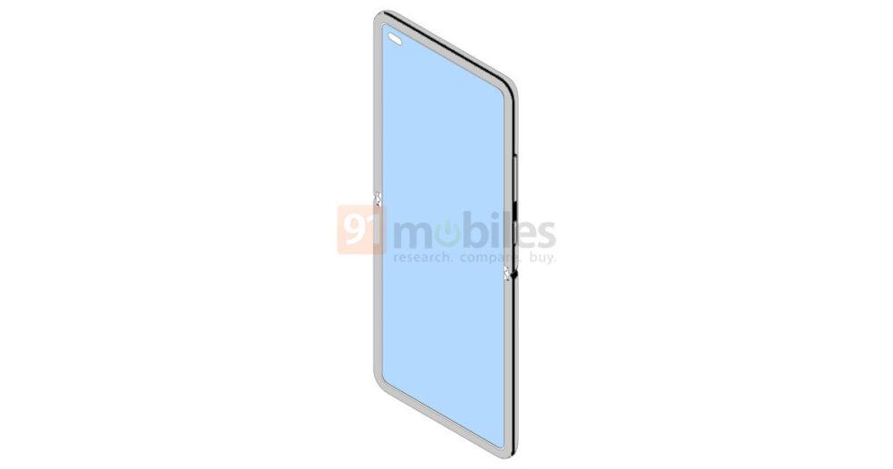 Nueva patente deja ver un Xiaomi plegable con formato concha 4