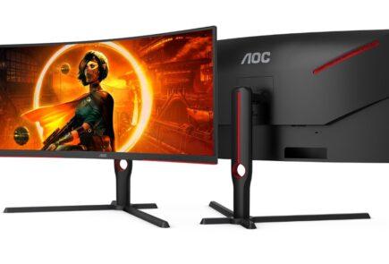 AGON by AOC presenta sus monitores gaming con 165 Hz y curvatura 1000R