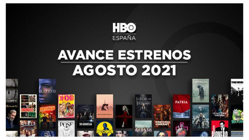 Estrenos de HBO para Agosto de 2021