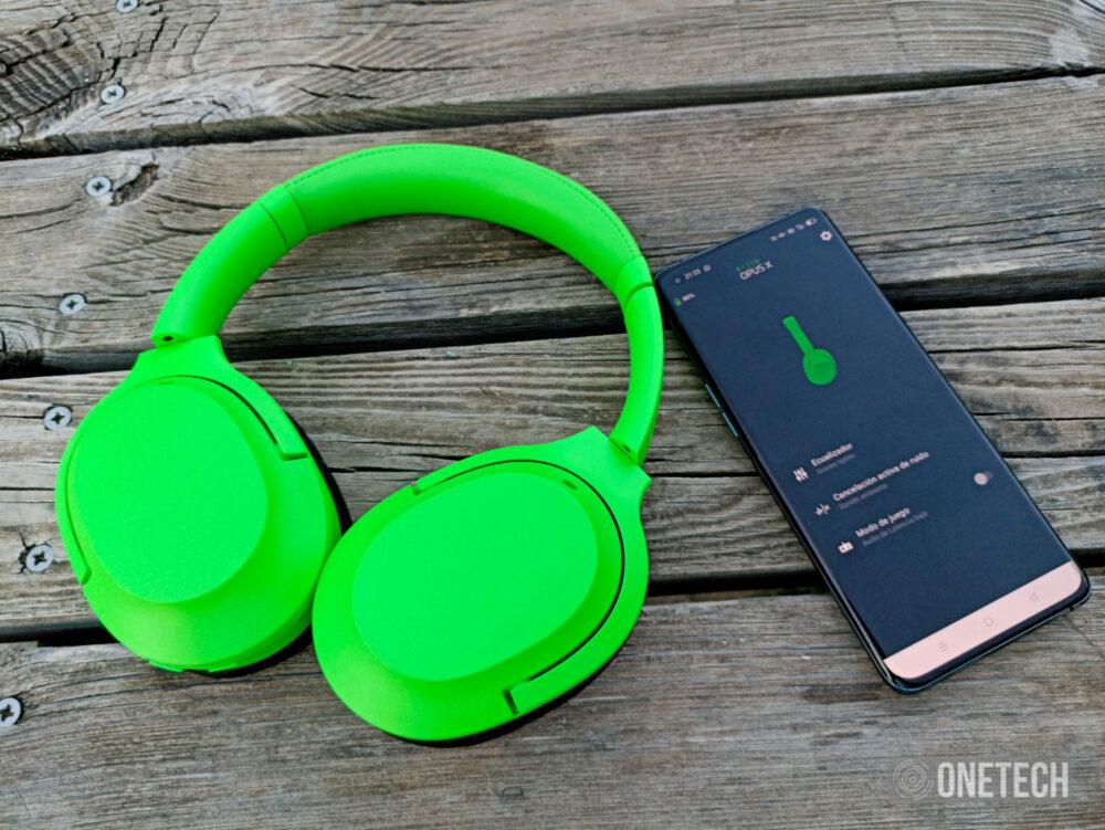Razer Opus X: auriculares con cancelación activa de ruido y baja latencia a un precio ajustado - Análisis 14