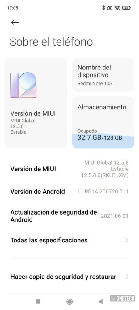 Redmi Note 10S, una apuesta más por la gama media - Análisis 34