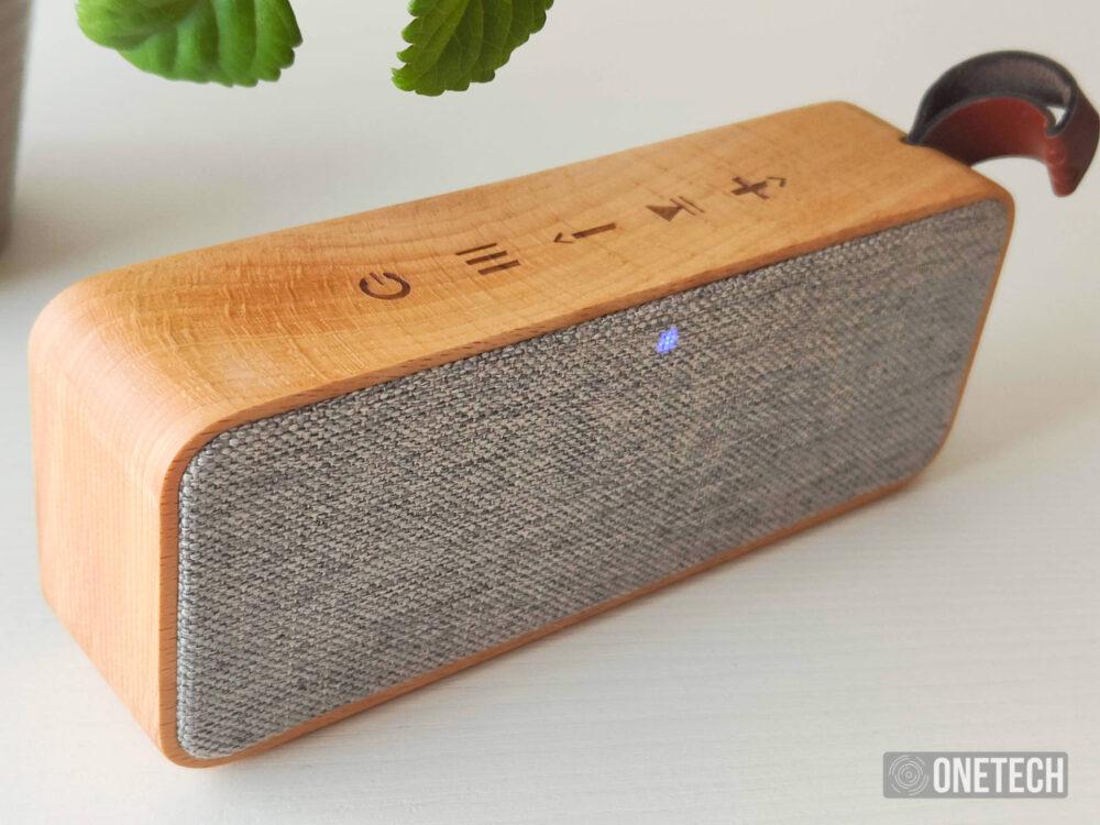 "Speaker Eco Beech Wood: el altavoz ""de madera"" de Energy Sistem - Análisis 6"