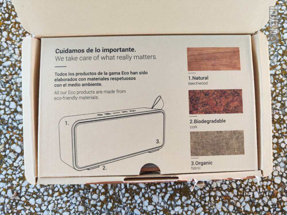 "Speaker Eco Beech Wood: el altavoz ""de madera"" de Energy Sistem - Análisis 4"