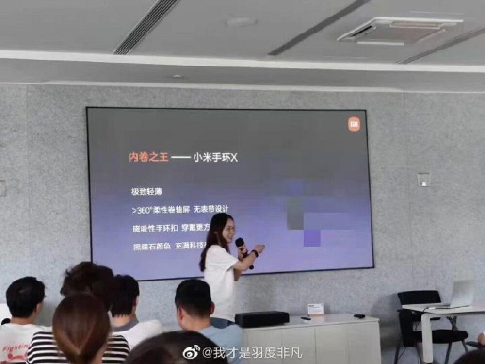 La Xiaomi Mi Band X podría ser la evolución que estábamos esperando