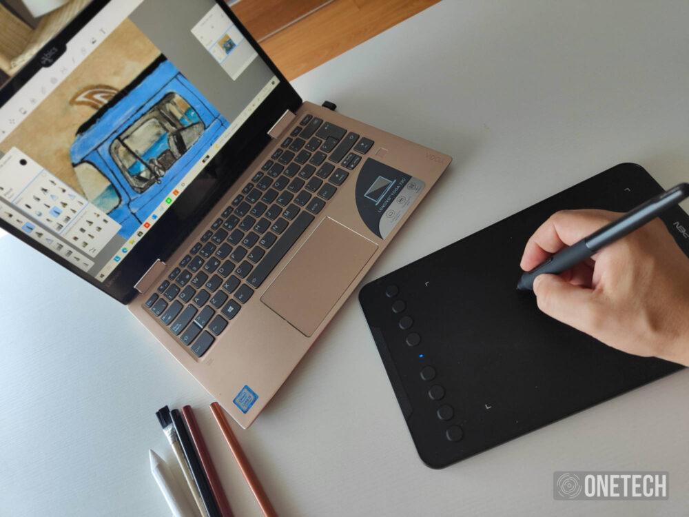 XP-Pen Deco Mini7W, una tableta gráfica mini en tamaño y grande en prestaciones - Análisis 10