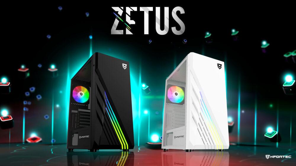 Zetus, la nueva torre gaming de Nfortec 1
