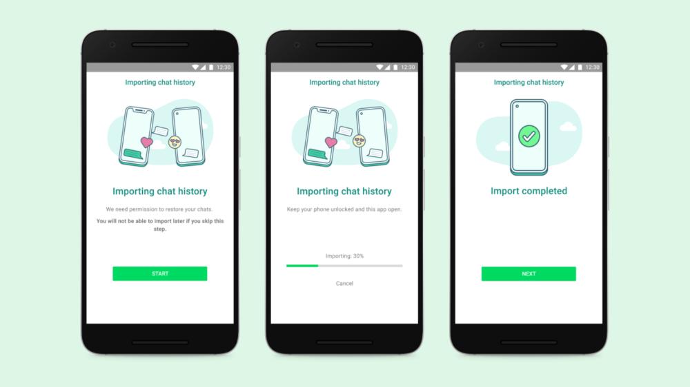 WhatsApp anuncia la transferencia de chats entre iOS y Android