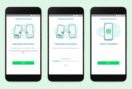 WhatsApp anuncia la transferencia de chats entre iOS y Android 1