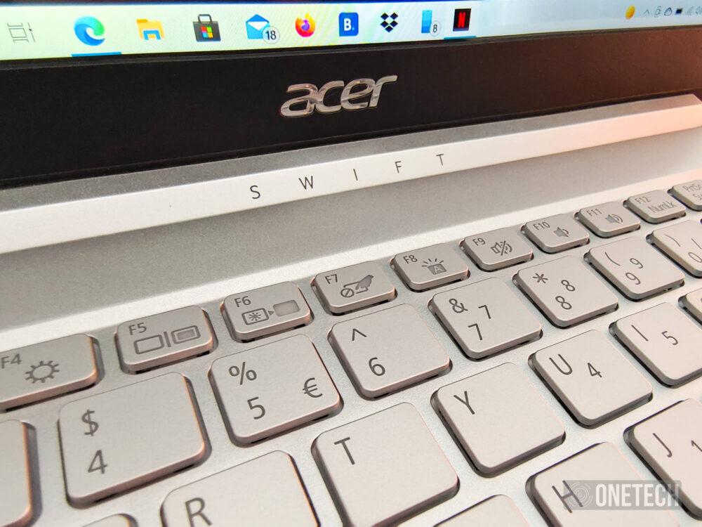 Acer Swift 3 SF313-53-785M, un portátil de garantía a precio razonable - Análisis 5