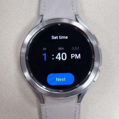Ya tenemos imágenes reales del Galaxy Watch 4 con Wear OS 3