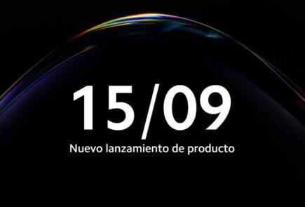 Xiaomi anuncia un nuevo evento para el 15 de Septiembre 2