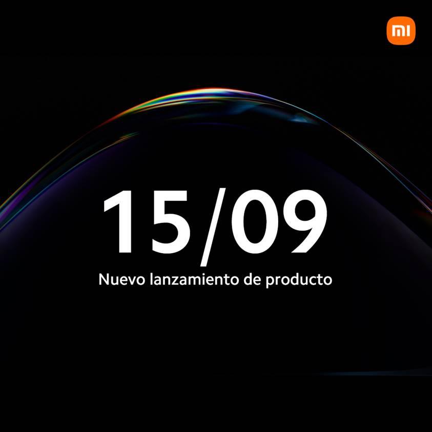 Xiaomi anuncia un nuevo evento para el 15 de Septiembre 1