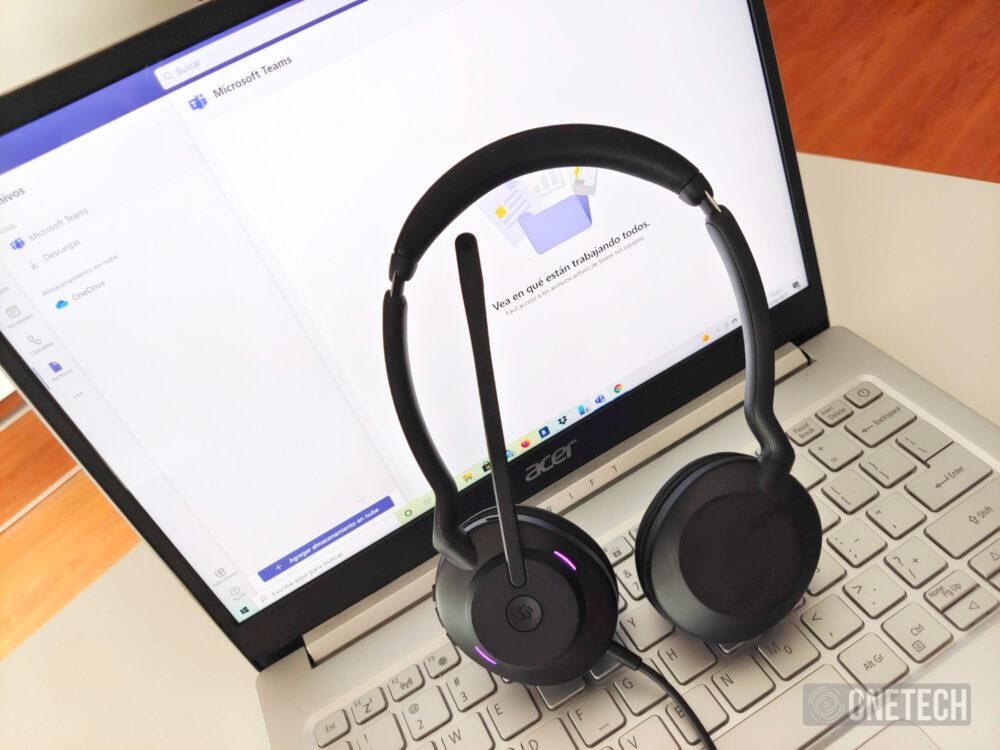 Evolve2 30, los auriculares para productividad de Jabra certificados para Teams - Análisis 10