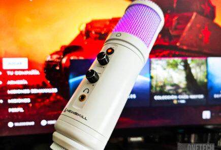 Newskill Kaliope Ivory: un micrófono gamer para quien huye de lo oscuro - Análisis 4