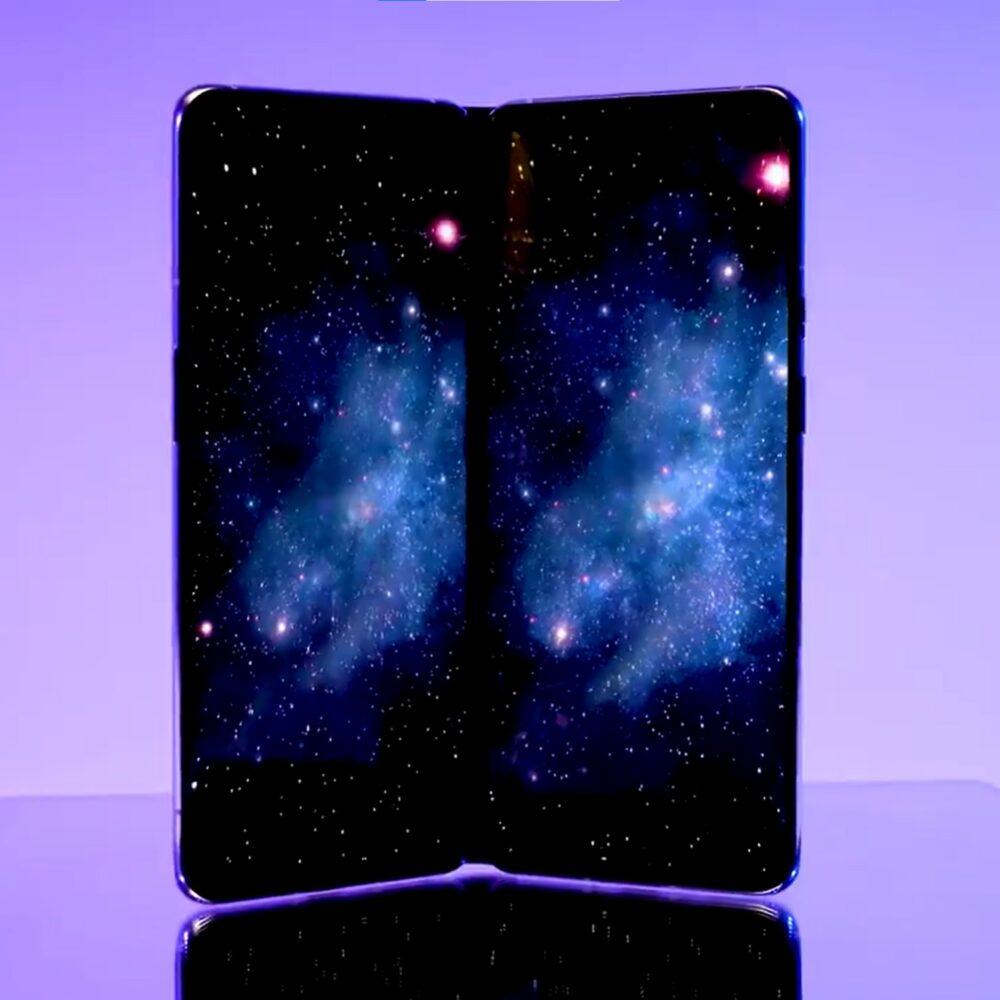 OnePlus muestra el que podría ser su primer smartphone plegable o de doble pantalla