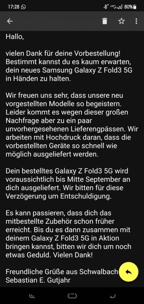La alta demanda parece que está retrasando el envío de los nuevos plegables de Samsung 1