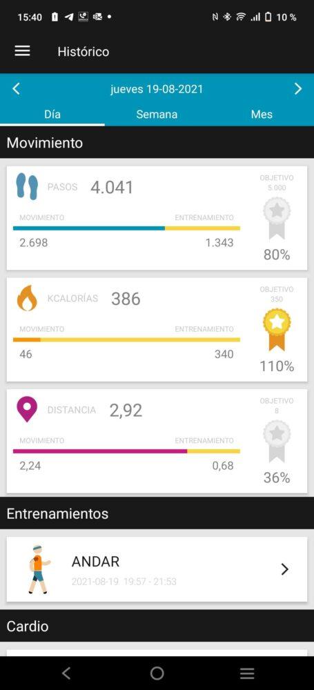 SPC Smartee Boost, un reloj económico con GPS para seguir tu ritmo - Análisis 12