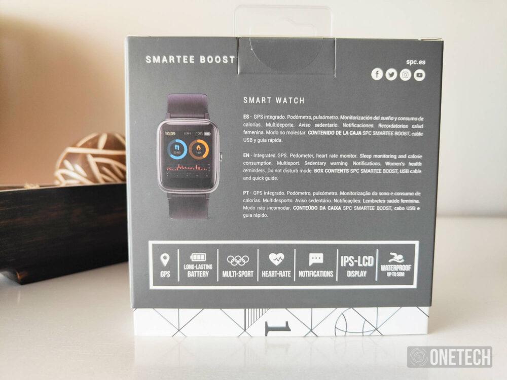 SPC Smartee Boost, un reloj económico con GPS para seguir tu ritmo - Análisis 2