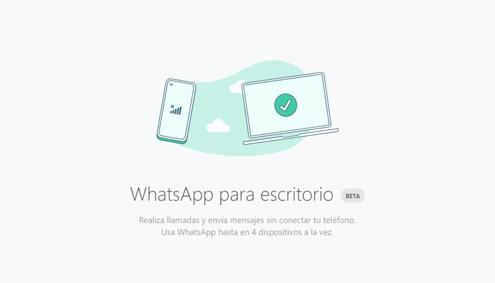 WhatsApp lanza el programa beta para Windows y macOS. Te decimos como instalarla 1
