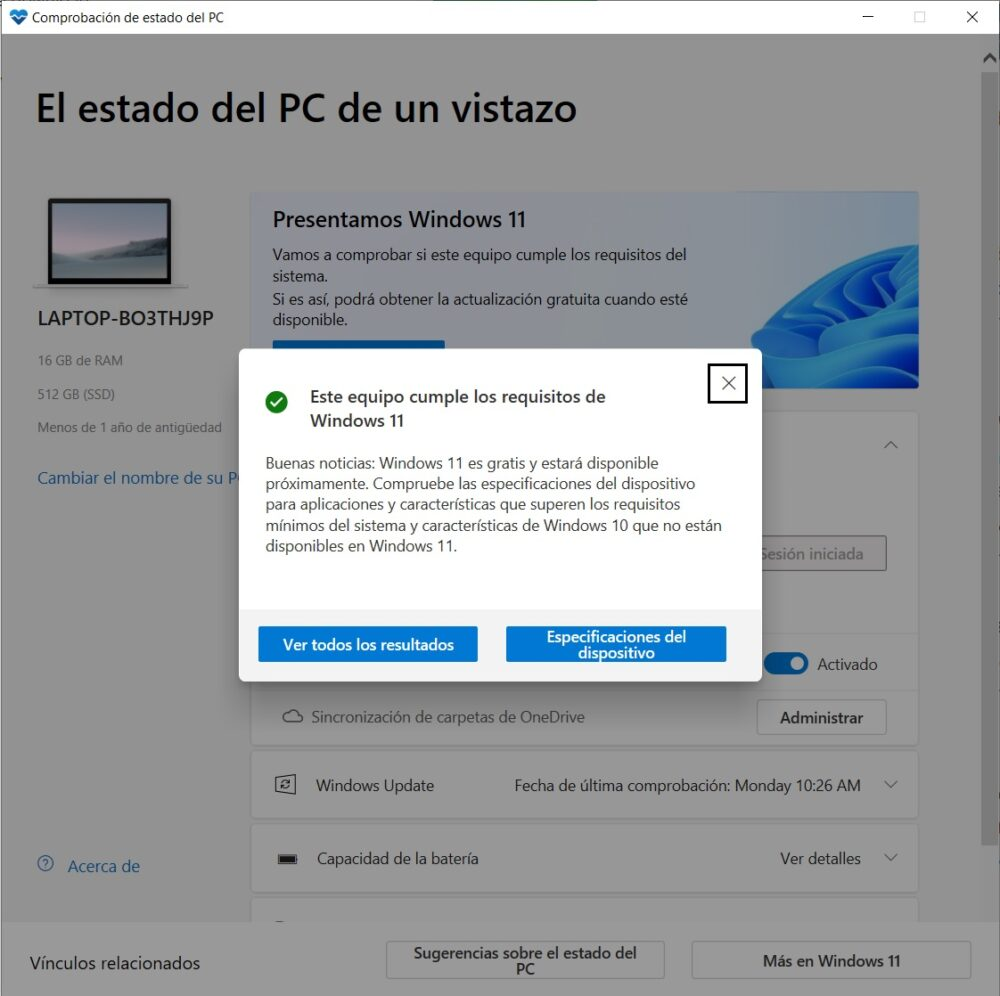 Acer Swift 3 SF313-53-785M, un portátil de garantía a precio razonable - Análisis 10