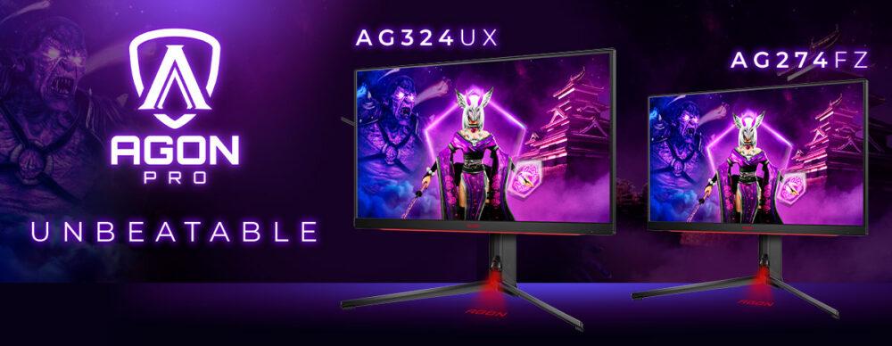 AGON by AOC lanza sus nuevos monitores AG324UXy AG274FZpara gaming 1