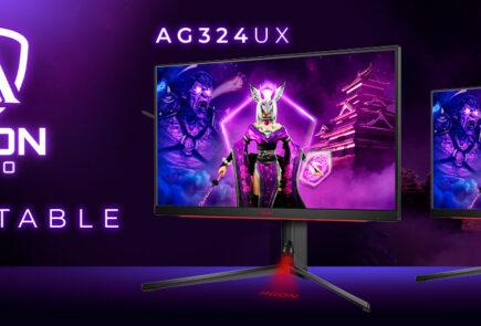 AGON by AOC lanza sus nuevos monitores AG324UXy AG274FZpara gaming 9