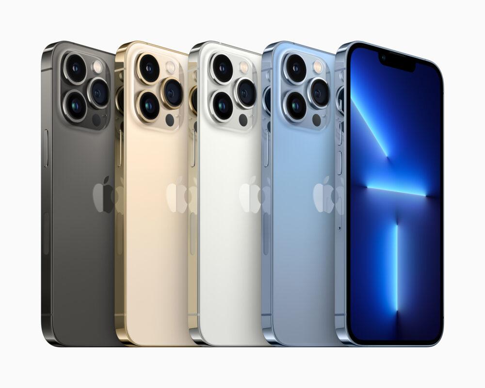 iPhone 13 Pro y iPhone 13 Pro Max: mejoras en las cámaras y pantallas a 120 Hz 1