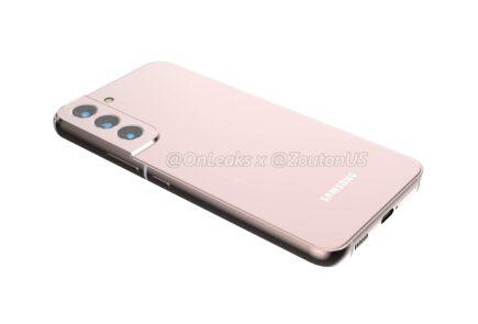Tras el Samsung Galaxy S22 Ultra se filtran renders de los Galaxy S22 y Galaxy S22 Plus 1