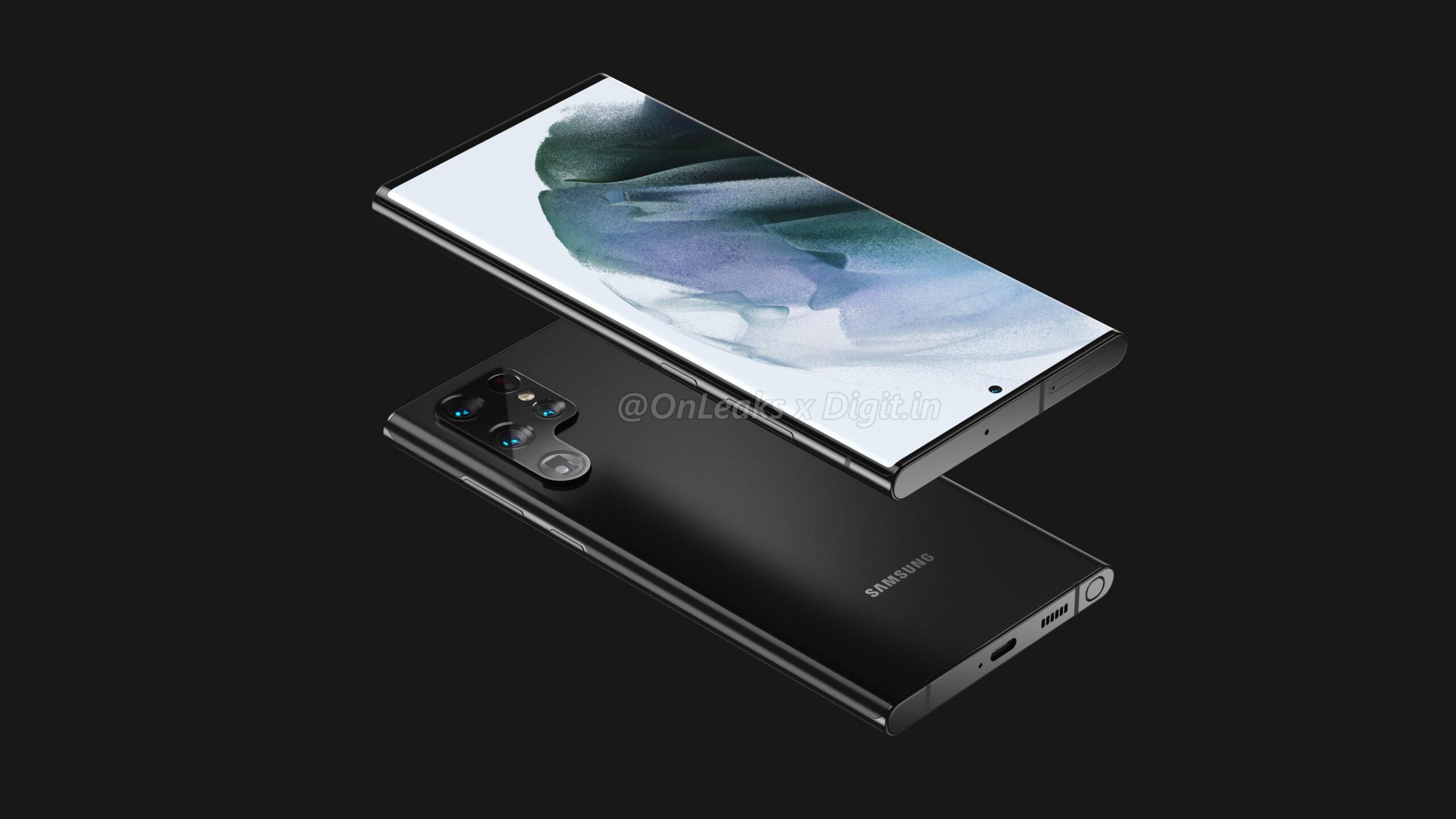 Este sería el diseño del Samsung Galaxy S22 Ultra: S-Pen y un curioso sistema de cámaras 2
