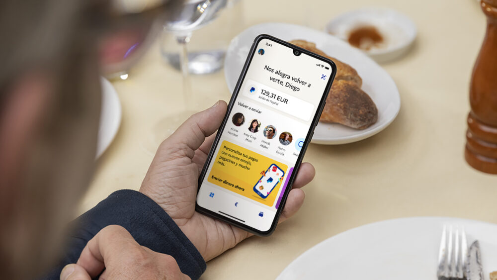 Paypal renueva su APP con un monedero digital y funciones de mensajería 1