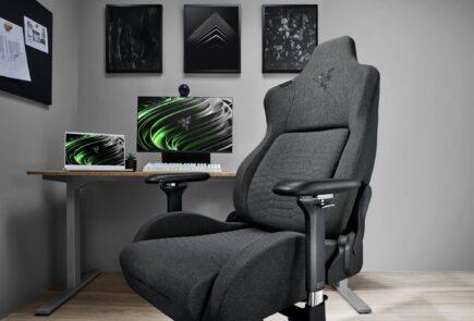 Razer amplia su gama de sillas Iskur incluyendo una versión en tela y XL 2