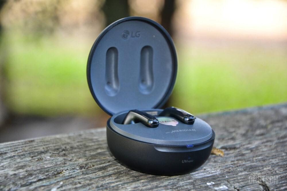 LG Tone Free FP8: auriculares con sonido Meridian, ANC y desinfección UV - Análisis 5