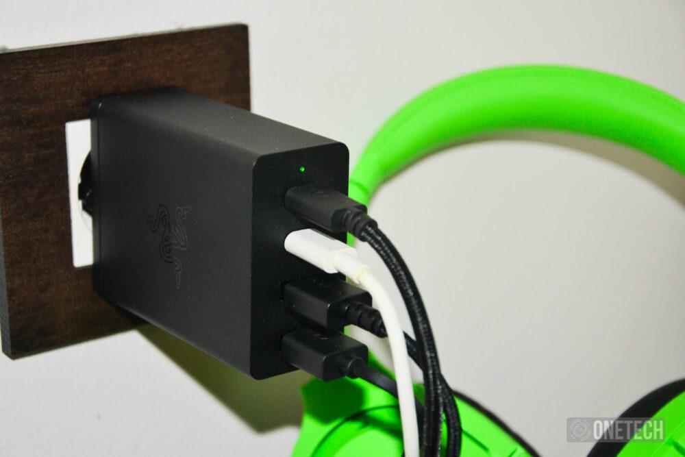 Cargador Razer USB-C 130W GaN: Un potente 4 en 1