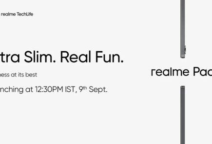 Realme Pad, la primera tablet de la compañía se presentará el 9 de septiembre 2