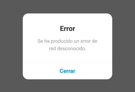 Instagram está caído y no permite acceder a la aplicación [Actualización] 1