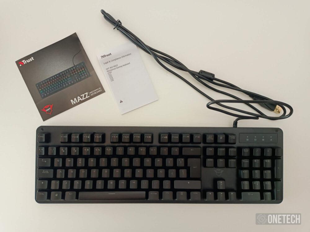 Trust GXT 863 MAZZ, un teclado mecánico económico - Análisis 2