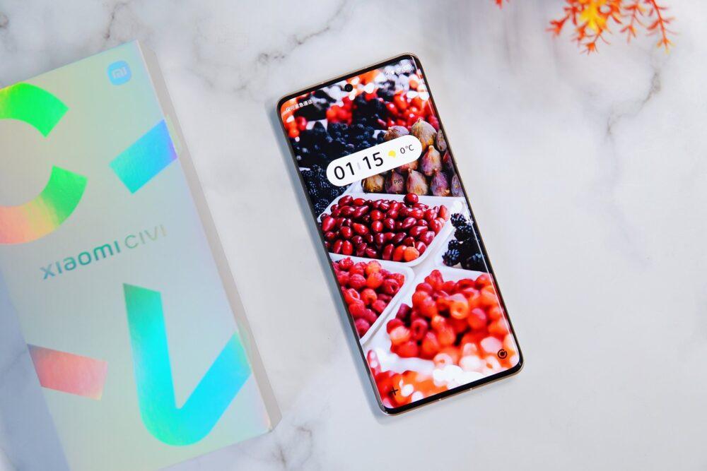El Xiaomi CIVI, la nueva línea de la compañía, se muestra en imágenes 1
