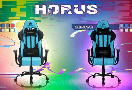 Newskill Horus y Horus Zephyr, o como tener unas sillas gamer por menos de 150€ 3