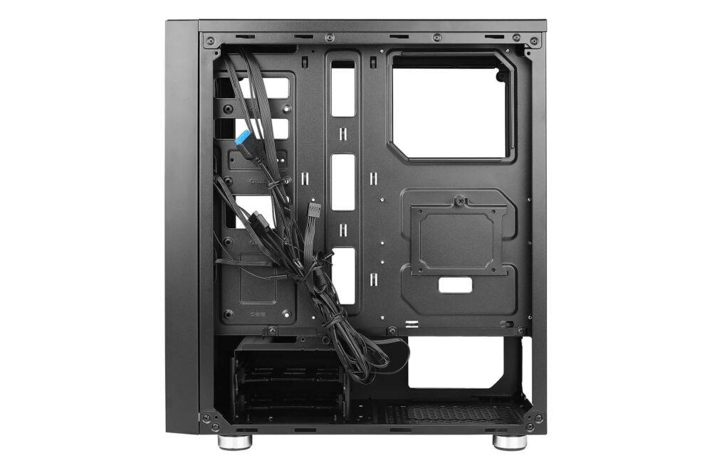 Antec presenta su nueva caja NX320 con tres ventiladores ARGB y un precio de menos de 70€ 3
