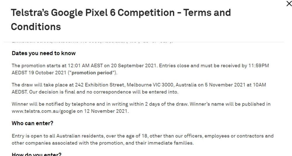 Los Google Pixel 6 se lanzarían el 19 de Octubre según una nueva filtración